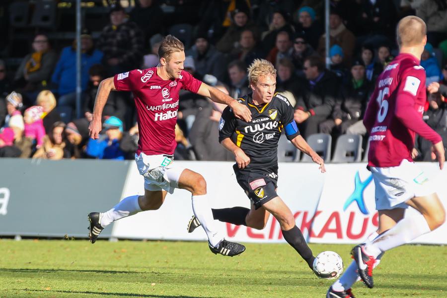 20.10.2013 - (FC Honka-FC Lahti)