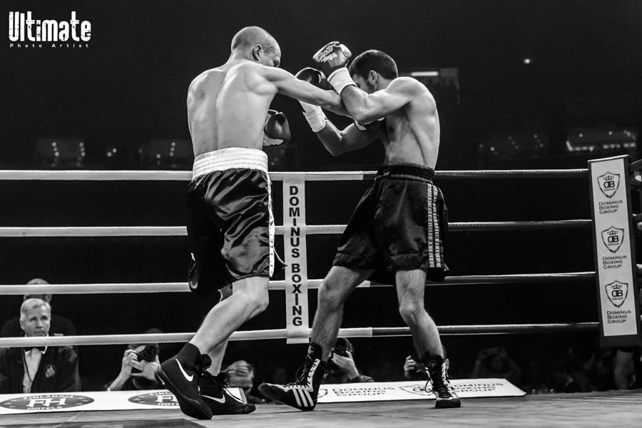17.12.2016 All In Fight Night; Oskari Metz vs Marko Nastic