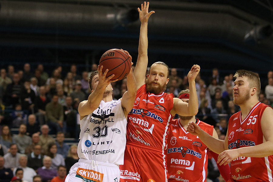 15.4.2019 - (Lahti Basketball-Bisons)