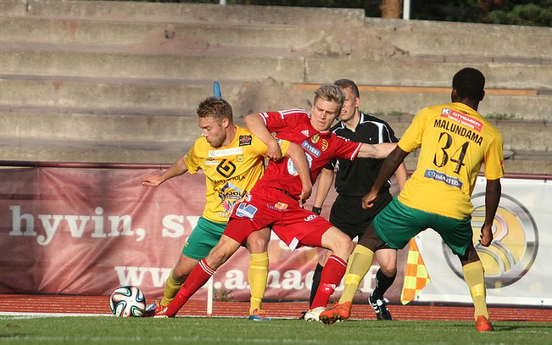 1.9.2014 - (FC Jazz-Ilves)