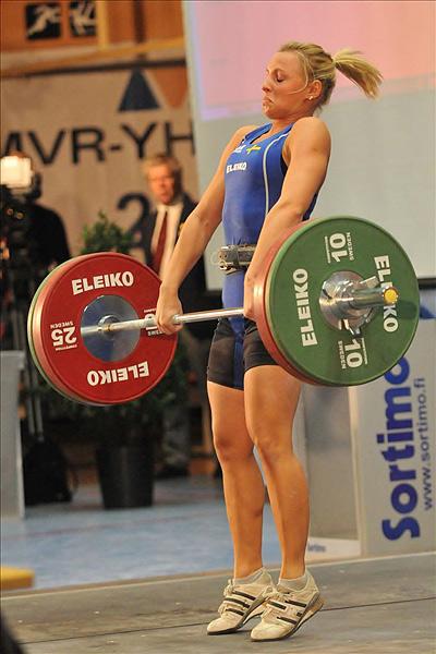 8.-9.10.2011 - (Painonnoston PM-kilpailut, naiset galleria 1)