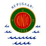 Reposaaren Kunto ry - logo