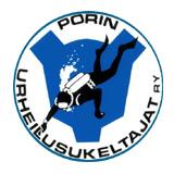 Porin Urheilusukeltajat - logo